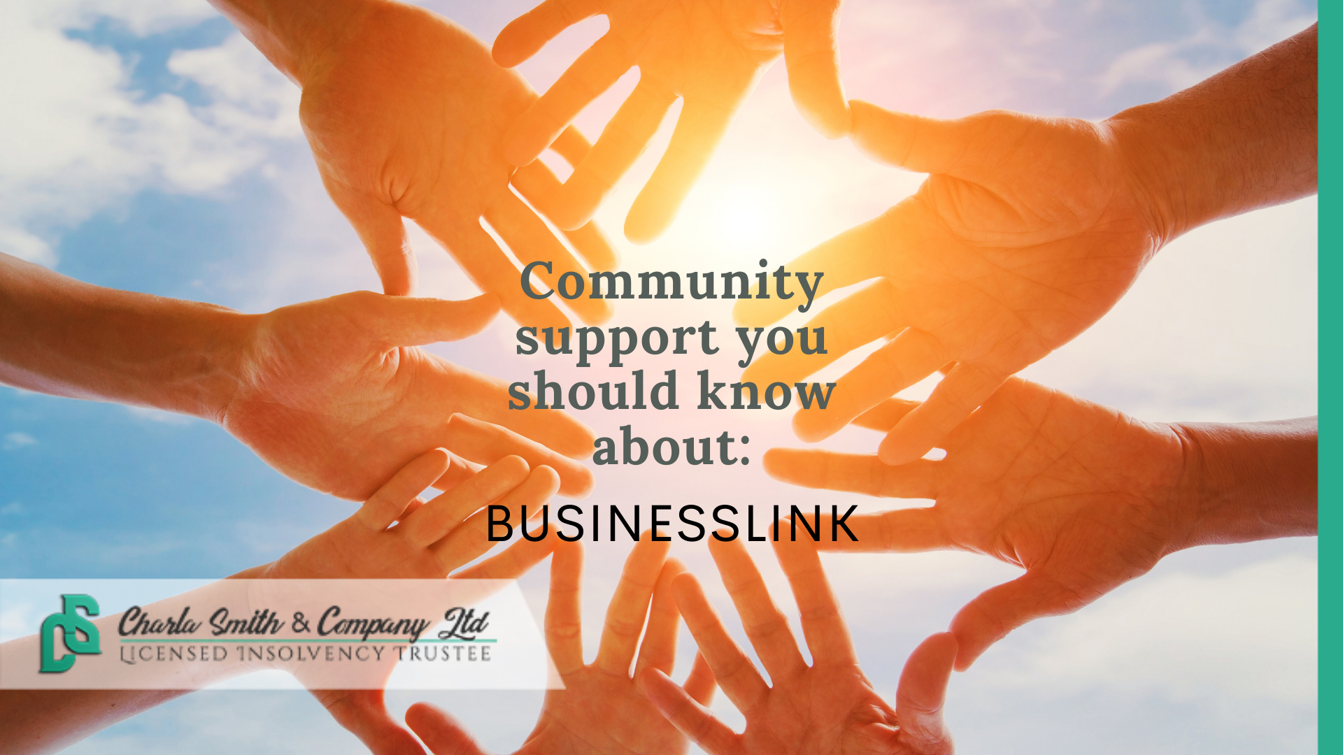 Community support you need to know about: Business Link